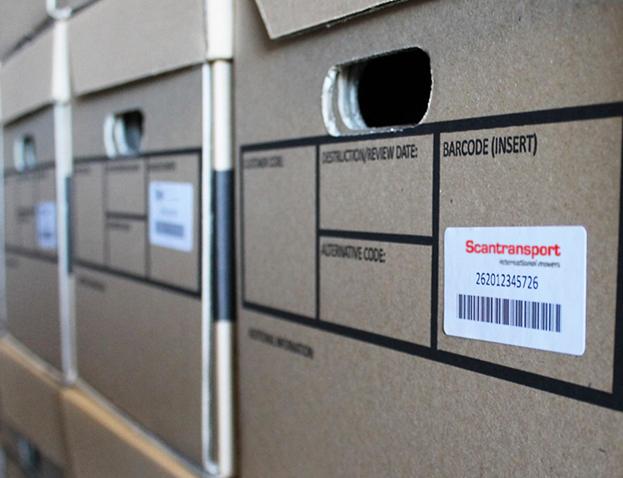 Udpakning med Scan Transport
