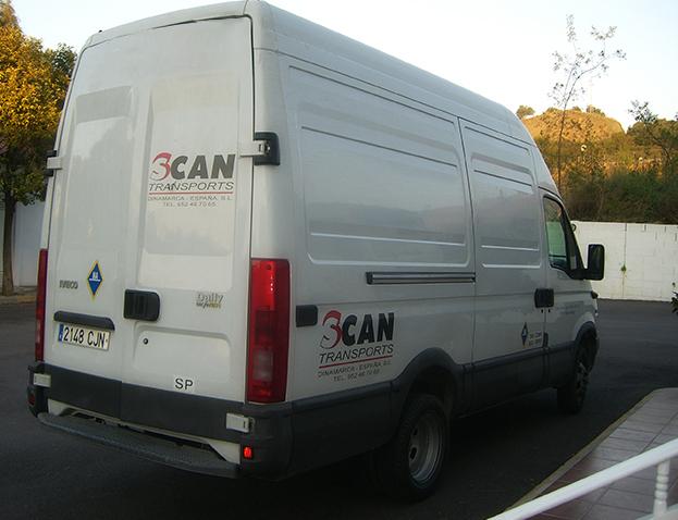 Flytning lokalt i Spanien 1